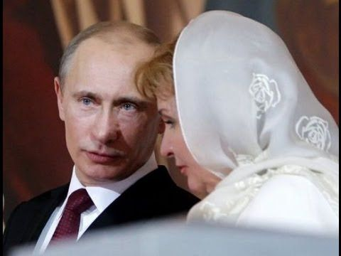 RUSSIAN President PUTIN has DIVORCED from his wife Lyudmila Putina after...