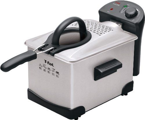 T-fal FR1014 Easy Pro Enamel Deep Fryer 3-Liters of Oil & up to 2.6-pounds of food, Silver T-fal http://www.amazon.com/dp/B003MGOVHC/ref=cm_sw_r_pi_dp_tDMSwb0NB2WZ5