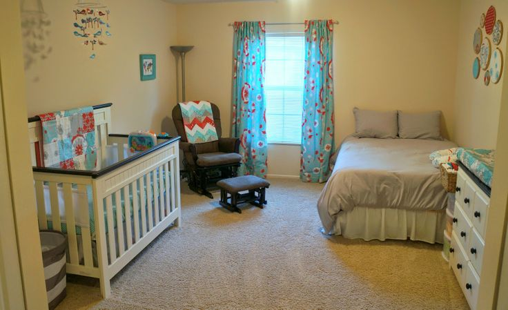 Corner of Joy:  Baby Nursery/Guest Room organizing idea.