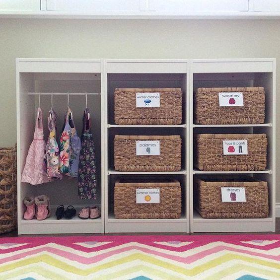 Las 25 mejores ideas sobre dormitorio montessori en for Armario habitacion nina