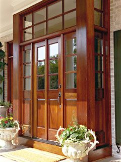 Front Door Alcove Home Exterior Pinterest Beautiful