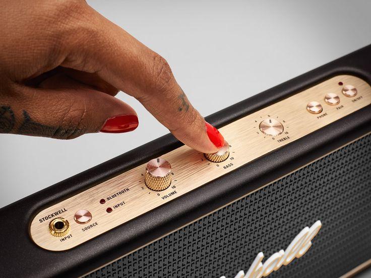 Marshall Stockwell Travel Speaker Shoves Your Tunes Center-Stage. HELLO, CLEVELAND! -  #marshall #speaker #travel
