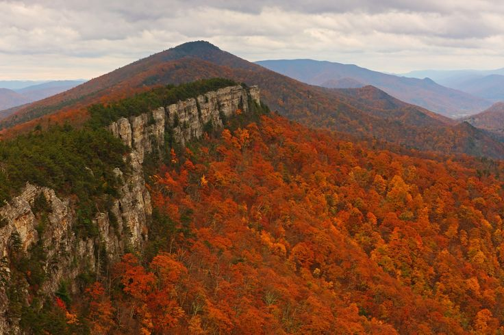 https://flic.kr/p/AgCPNx | North Fork Mtn: Wall | North Fork Mountain, Monongahela National Forest, West Virginia (Oct 25, 2015)