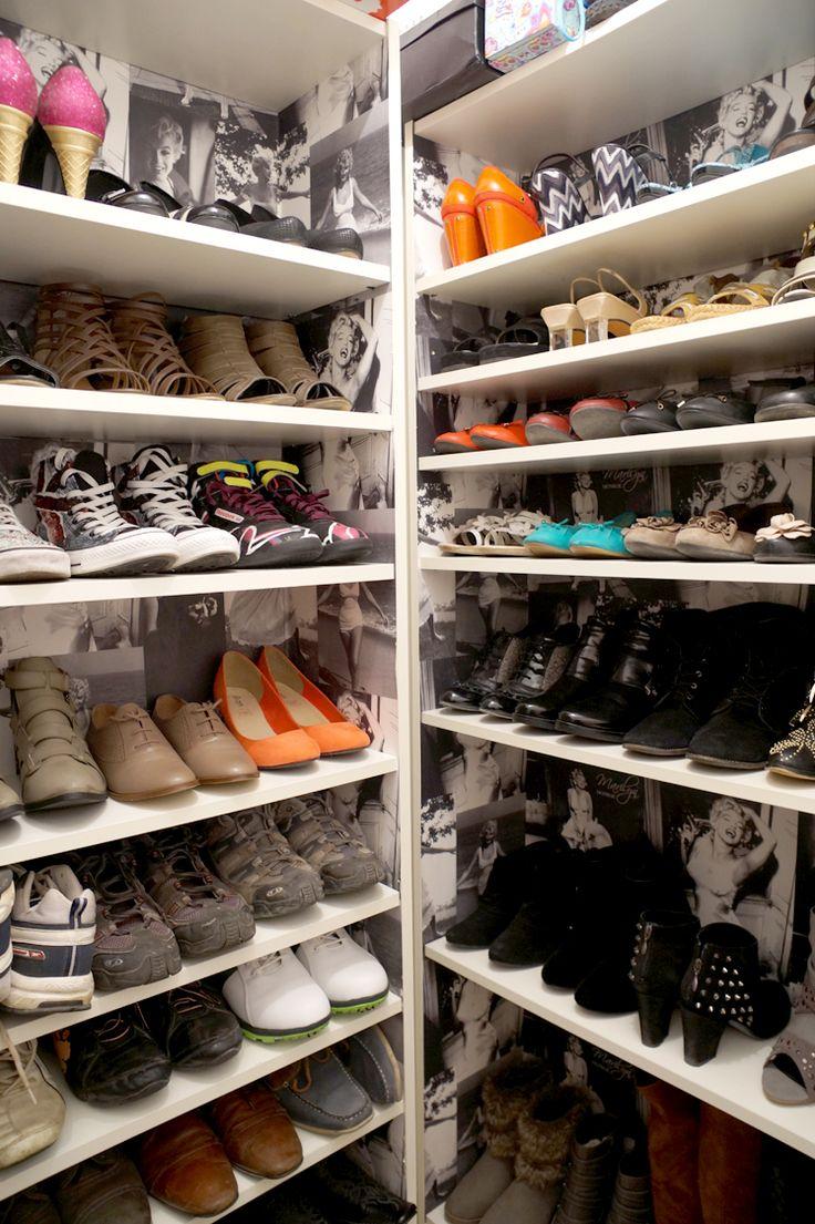 17 meilleures id es propos de rangement chaussures pas - Placard a chaussure pas cher ...