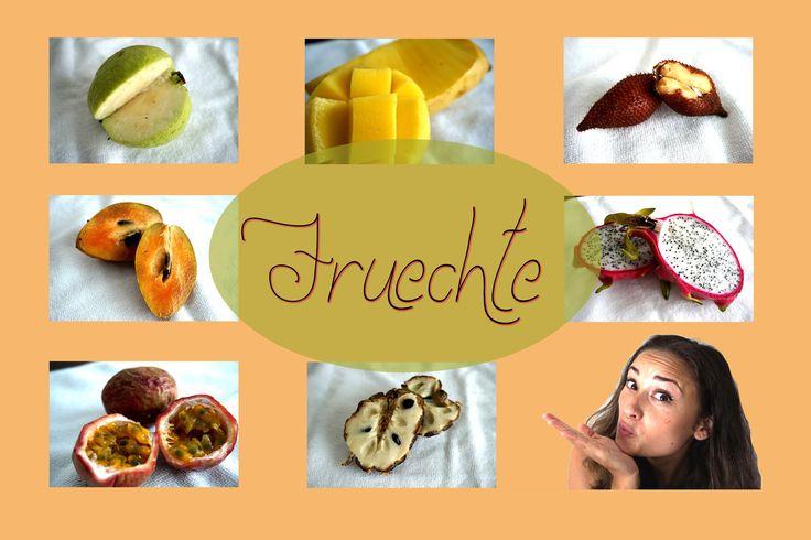 Tropische Früchte - Obst - Wirkung - Geschmack - Outtakes