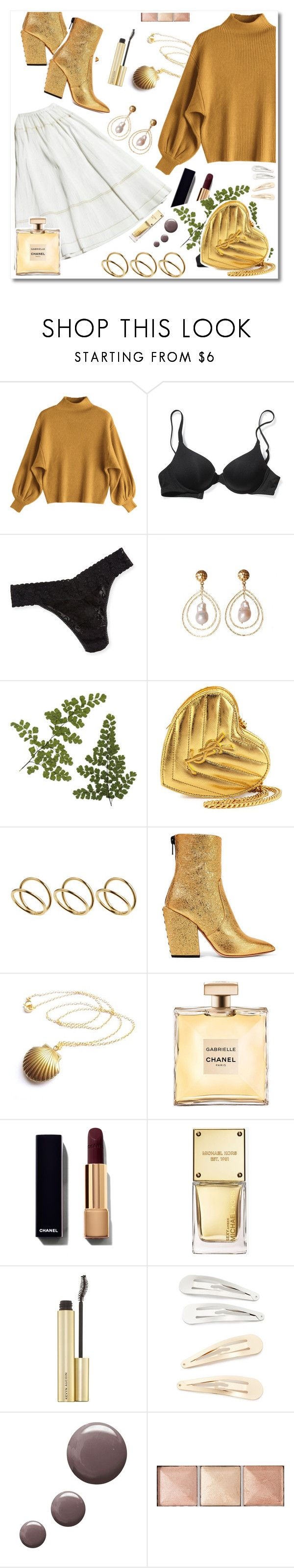 """"""\ GOLDS"""" by saintliberata ❤ liked on Polyvore featuring Victoria's Secret, Hanky Panky, Christina Greene, Yves Saint Laurent, ASOS, Petar Petrov, Michael Kors, Kitsch, Topshop and Hourglass Cosmetics""600|3194|?|en|2|8d240ba6b71e859b4fb782383b7f45d4|False|UNLIKELY|0.3469737768173218
