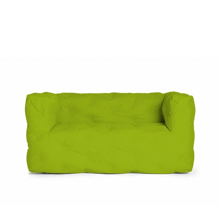 Outdoor Couch 1 Zweisitzer Grün
