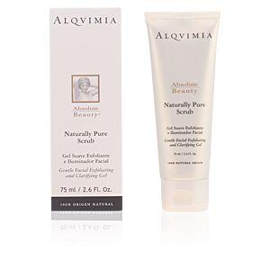 ABSOLUTE BEAUTY naturally pure scrub gentle facial gel de Alqvimia en Perfumes Club