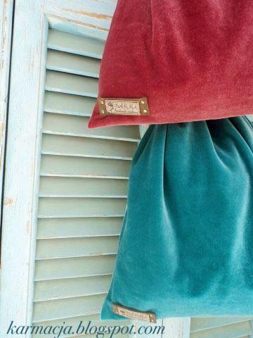 KARMA: Velvet drawstring bags ❤️