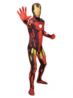 Morphsuit Iron Man   Deiters   Kostüm   Karneval   Fasching   Outfit   Mottoparty   Held   Marvel   Herren