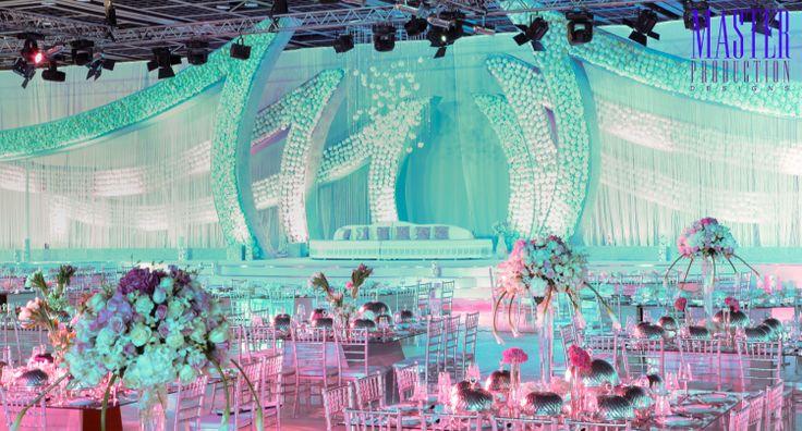 Arabic wedding set up Arabic wedding stage