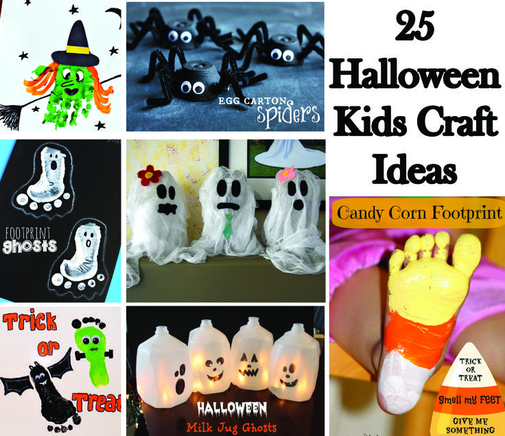 500+ best Fall/Halloween images on Pinterest Halloween prop - halloween kids craft ideas