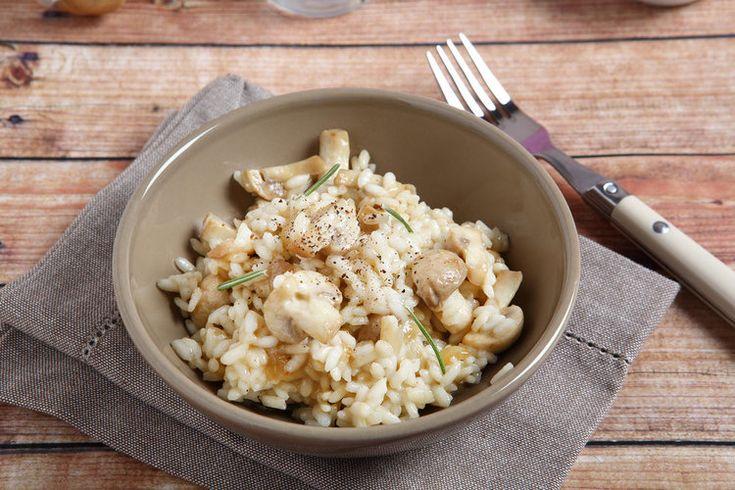Risotto ai Funghi www.tastetrailsrome.com cooking holidays Rome