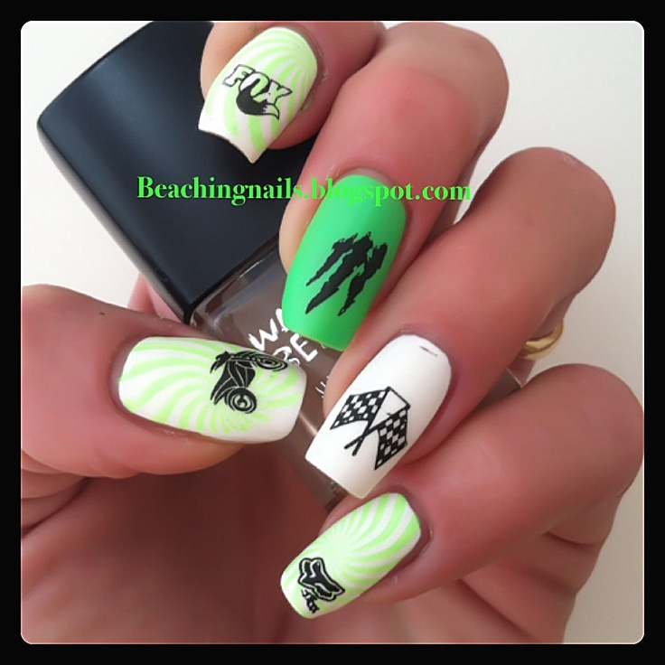 Monster Energy Drink Nails