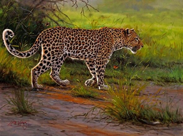 Wildlife Artist Lute Vink Also Known As One Of The