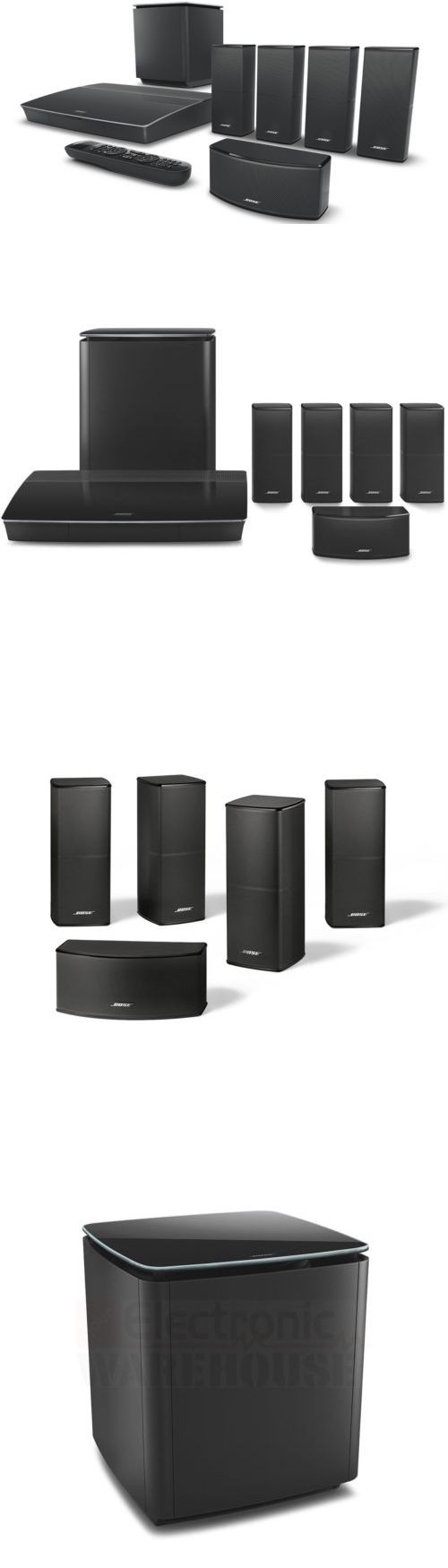 Home Theater Systems: Must Go Now! Bose Lifestyle 600 Home Theater System Normally Sells For $2999.99! -> BUY IT NOW ONLY: $2389.99 on eBay!