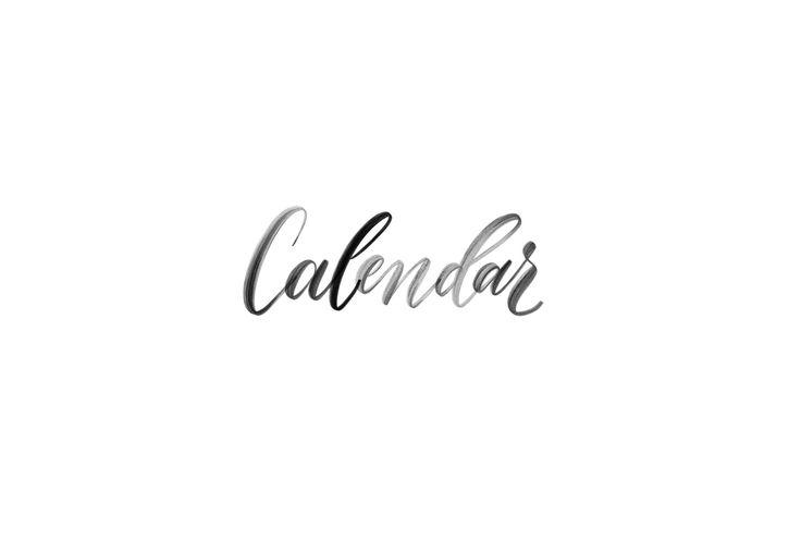 DIY Easy Printable Calendars For Your Wall Desktop Or Binder