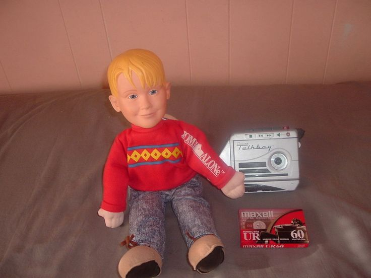 Home Alone Talkboy,Home Alone Kevin Doll,Both Functional.Pull String & He Talks! #Tiger