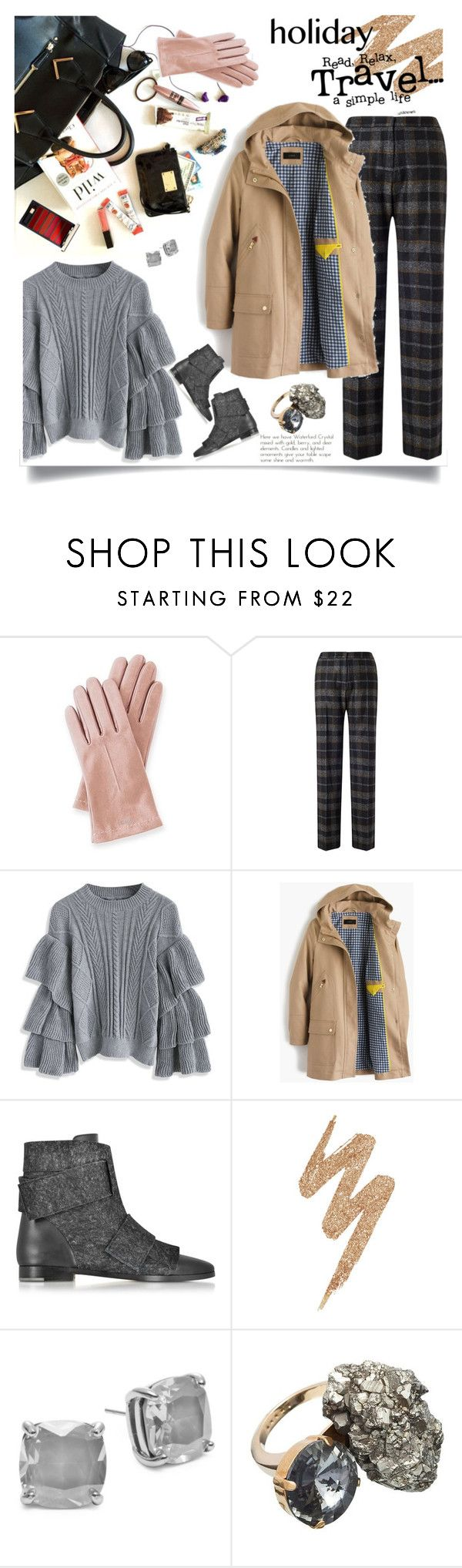 """624"" by believelikebreathing ❤ liked on Polyvore featuring Mark & Graham, Jigsaw, Chicwish, J.Crew, Zoe Lee, Urban Decay, Kate Spade, Marni and Packandgo"