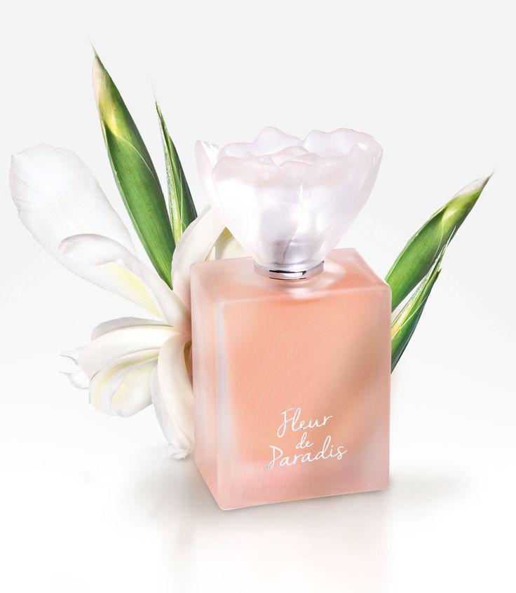 FLEUR DE PARADIS : une délicieuse promenade dans le jardin d'Eden, entouré des fleurs les plus précieuses comme l'Iris, le Seringa, le jasmin, sous la fraîcheur délicate de la bergamote et du cassis. Une fragrance romantique et moderne. #perfumes #fredericm #parfums #mlm #grasse #fragrance #femme #woman