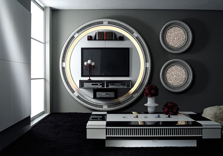 The #vismaradesign Stargate Home Cinema is characterized by a unique round shape and an unforgettable design. #luxury #luxuryfurniture #luxuryhomedesign #italiandesign #italianfurniture #madeinitaly