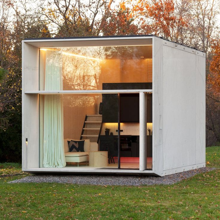 In a bid to solve the UK's housing crisis, Estonian design collective Kodasema has launched its prefabricated 25-square-metre micro home that takes less than a day to build and can be relocated to make use of vacant sites.