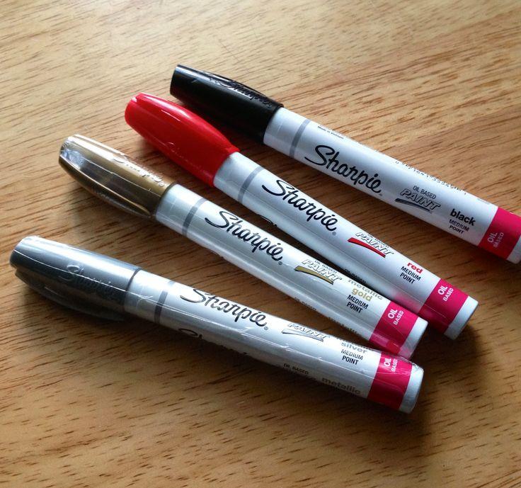 Best 25 oil based sharpie ideas on pinterest oil for Craft smart paint pen on mugs