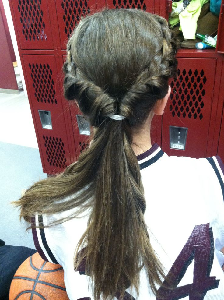basketball games braids