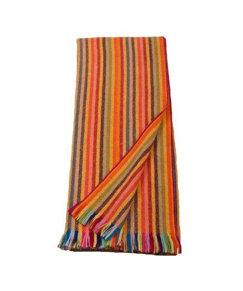 SCIARPA ARANCIONE A RIGHE Acquista online i prodotti di Accornero Cashmere su STORE.GRIFFALIA.COM | #scarves #madeinitaly #style #griffalia #fashion #fashionable #stylish #fashionblog #eccellenzeitaliane