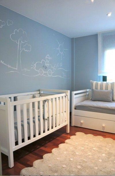 35 best images about cuartos de bebes on pinterest for Decoracion de dormitorios para bebes