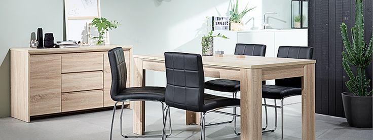 Woonidee: ga voor hout in combinatie met zwart voor een stoere masculine look | JYSK