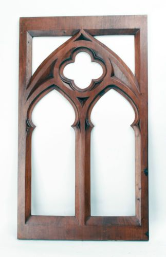 how to make cathedral pieces