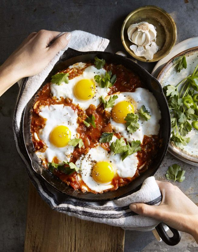 Eggs Baked in Tomato-Paprika Sauce
