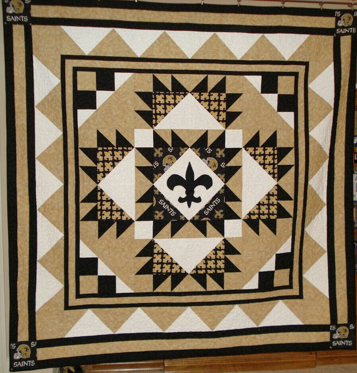 17 Best Images About College/NFL Quilts On Pinterest