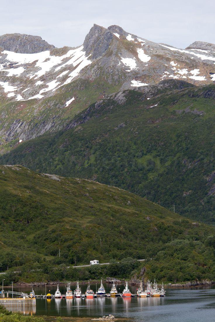 Bergen, fjorden, rust en ruimte. Een een kampeerauto natuurlijk. Noorwegen op z'n mooist.