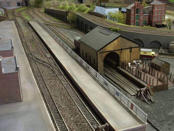 Cattle Dock Goods Shed Model Railroad Layouts