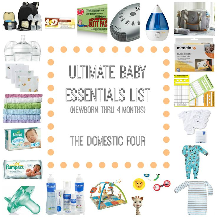 The Ultimate Baby Essentials List