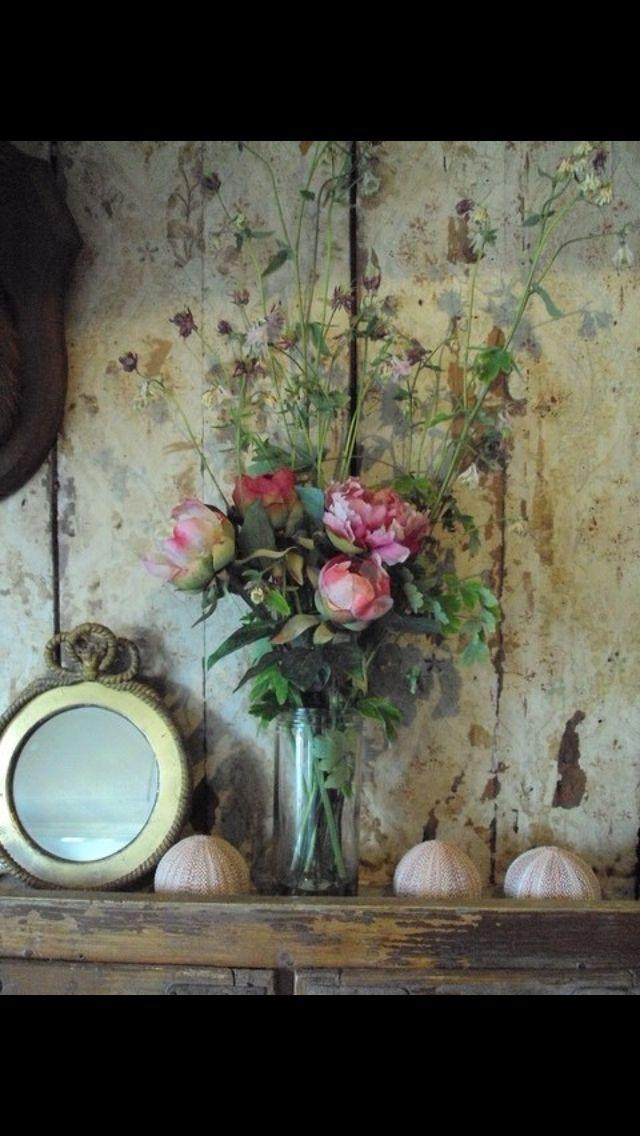 Vintage looking flowers