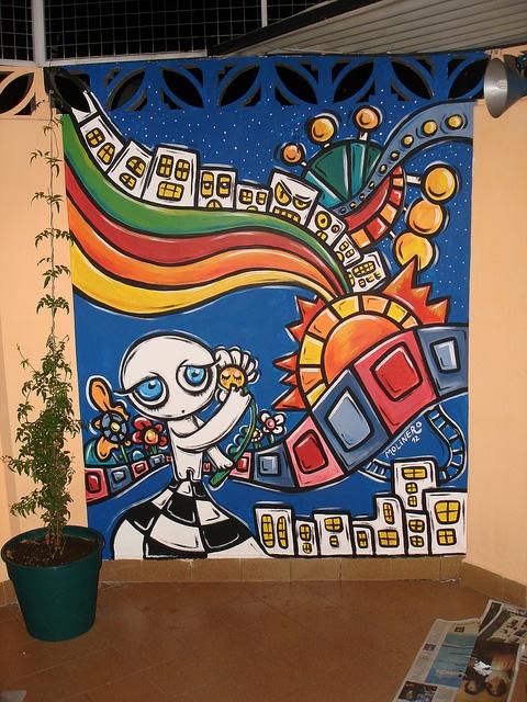 Mural caballito, CABA