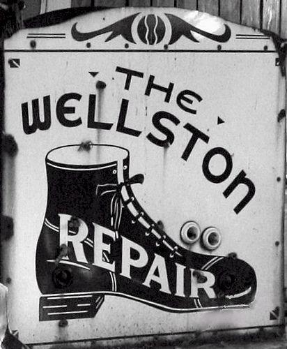 Cat S Paw Shoe Repair Sign