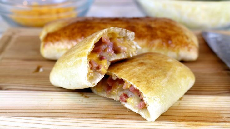 See how to make these easy homemade hot pockets in just minutes. Fill them with ham & cheese or other delicious fillings. By making them from scratch, you ch...