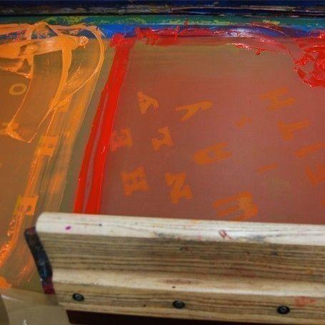 Course Details: Screenprinting at Edinburgh Printmakers