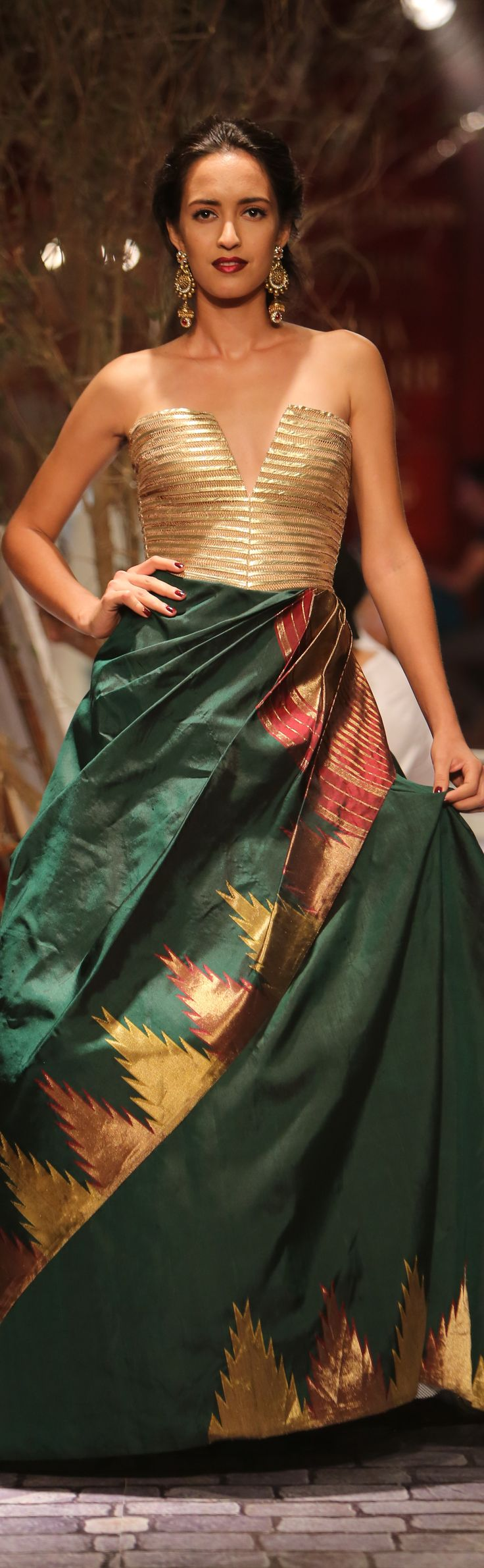 Monisha Jaising Collection at India Couture Week - original pin by @webjournal