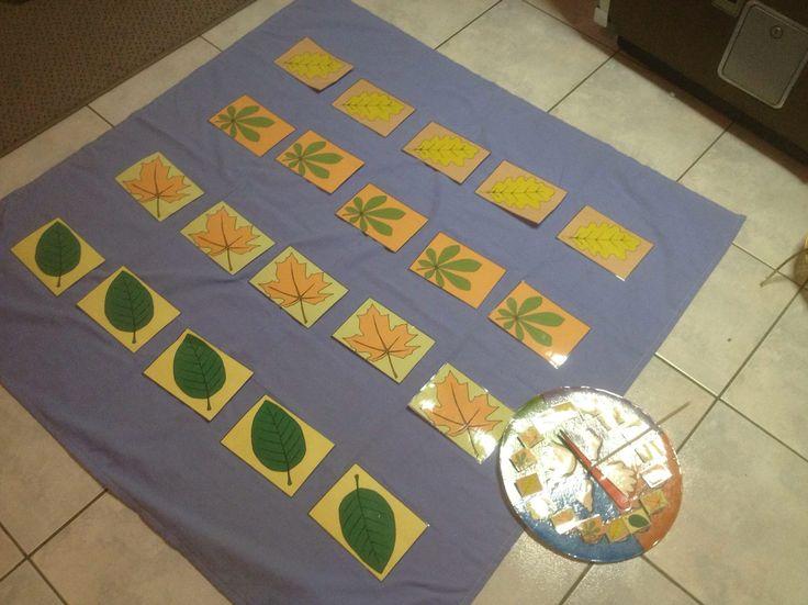 Thema herfst : twister van herfstbladeren