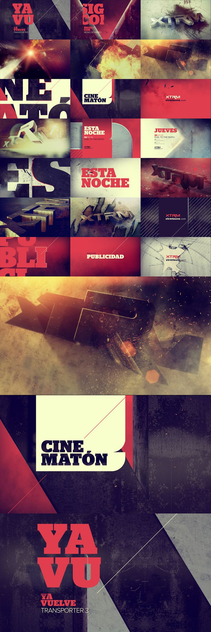 motion graphics/ storyboards/ styleframes | XTRM - PALIS