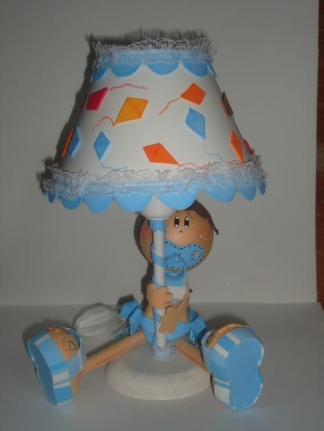 Lampara ppara el cuarto de un bebe fommi pinterest bebe - Lamparas habitacion bebe ...