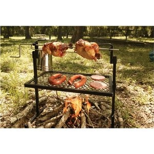 Texsport Rotisserie & Spit Grill: Rotisserie Grilled, Camps Gears, Texsport Rotisserie, Outdoor Cooking, Rotisserie Spit, Campfires, Firepit, Spit Grilled, Fire Pit