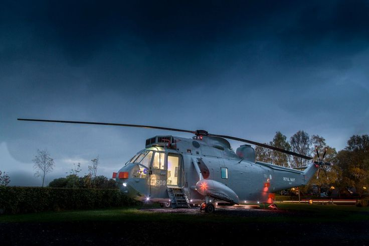 Helicopter Glamping in Scotland Mains Farm... | Luxury Accommodations
