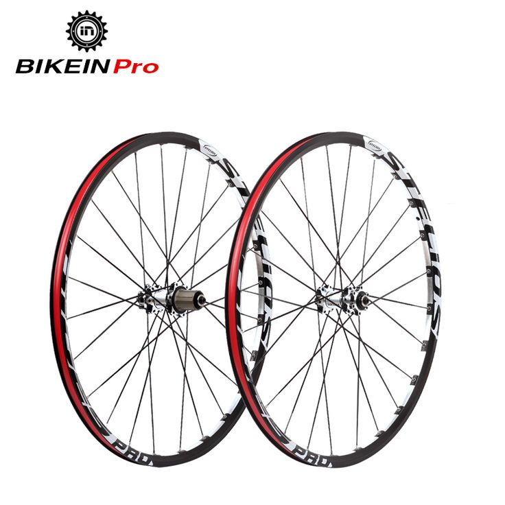 "BIKEIN 7 Bearing 120 Sounds Hub Disc Brake Mountain Bike Wheels 9/10/11 Speed 14G Spokes Aluminum Rim 26/27.5"" Bicycle Wheelset"