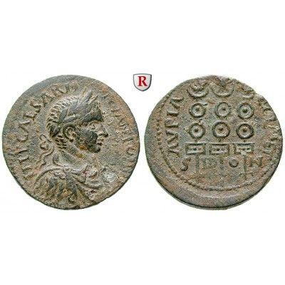 Römische Provinzialprägungen, Phönizien, Sidon, Elagabal, Bronze 218-222, ss-vz: Phönizien, Sidon. Bronze 29 mm 218-222. Drapierte… #coins